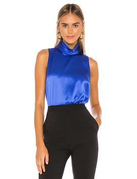 Fluerette Top In Cobalt by Amanda Uprichard