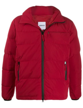 Front Zip Puffer Jacket by Aspesi
