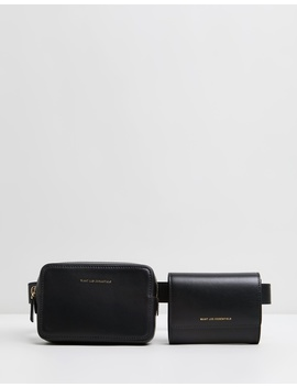 Luka Leather Belt Bag by Want Les Essentiels