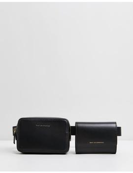 Luka Leather Belt Bag by Want Les Essentiels