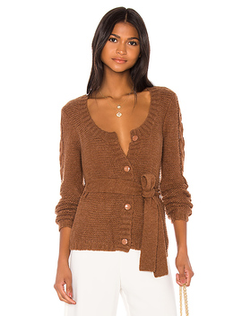 Joss Cardigan In Clay by L'academie