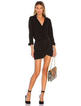 The Mavis Mini Dress In Black by L'academie