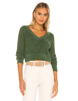 Emina Sweater In Green by Privacy Please