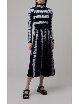 Tie Dye Cotton And Modal Blend Midi Skirt by Proenza Schouler