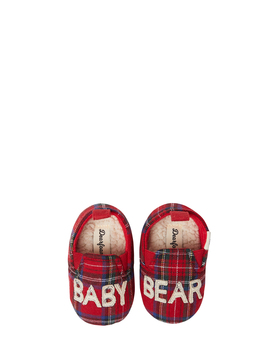 dearfoams-baby-bear-closed-back-slippers by dearfoams