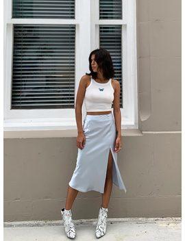 Charlize Midi Skirt by Princess Polly