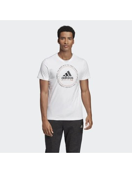 Must Haves Emblem Tee by Adidas
