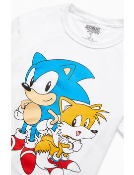 Sonic The Hedgehog & Tails Vintage T Shirt by Pacsun