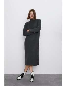 Vestido Gola Perkins by Zara