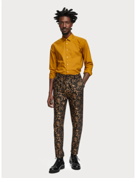 Jacquard Trousers <Br> Loose Tapered Fit by Scotch&Soda