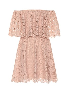 Floral Lace Minidress by Valentino