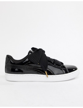 Puma   Basket Heart   Baskets   Noir by Puma