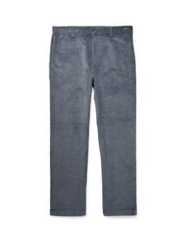 Stretch Cotton Corduroy Trousers by Club Monaco