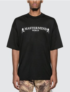 Logo Print T Shirt by Mastermind World
