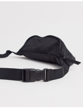 Asos Design Plus Bum Bag In Black With Rubber Patch by Asos Design