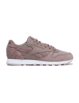 Classic Leather And Suede Sneakers by Reebok