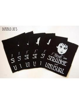 Beetlejuice Lydia Deetz Sew On Patch, Horror Jacket Screen Printed Patch 'strange And Unusual' by Etsy