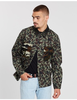 Fox Camo Shirt Jacket by Ps By Paul Smith