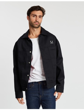 Raf Simons X Printed Lining Jacket by Fred Perry