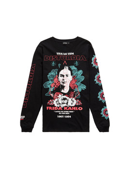 Frida Viva Long Sleeve T Shirt by Disturbia