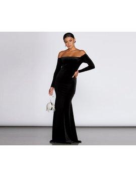 Ida Velvet Formal Gown by Windsor