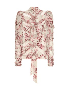 Unbridled Stretch Silk Blouse by Zimmermann