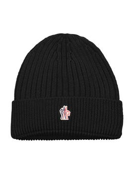 Logo Beanie by Moncler Grenoble