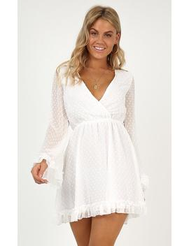 Stay Forever Dress In White by Showpo Fashion