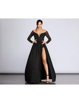 Rory Starry Night Heat Stone Dress by Windsor