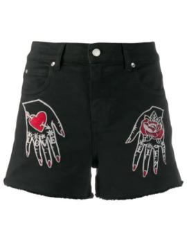 Denim Shorts by Red Valentino