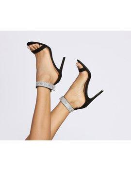 Rhinestone Cuff Stiletto Heels by Windsor