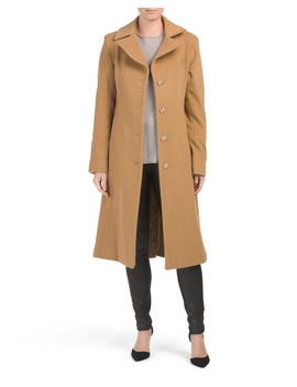Long Wool Blend Coat by Tj Maxx