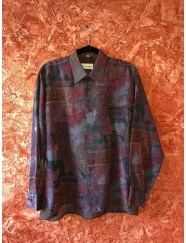 Christian Dior Silk Shirt, Vintage Rare by Dior  ×  Vintage  ×  Christian Dior Monsieur  ×
