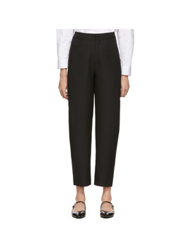 Black Novara Trousers by TotÊme