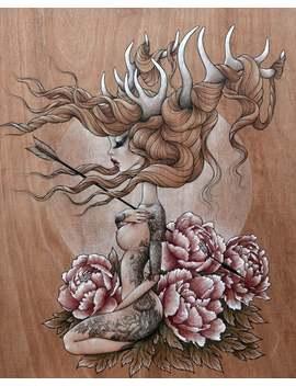 "Print Of My Original Illustration \""Jelena\ by Etsy"