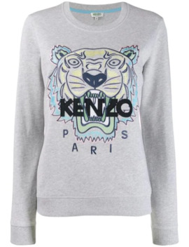 Tiger Logo Sweater by Kenzo