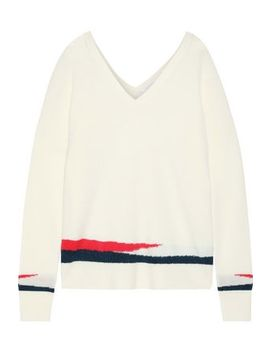 Intarsia Cashmere Sweater by Duffy