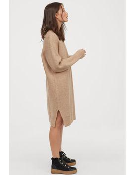 Šaty ZRebrovaného úpletu by H&M