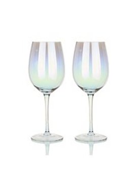 Iridescent Wine Glasses 4 Pack by Asda