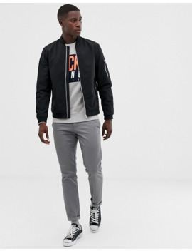 Jack & Jones   Essentials   Bomber   Noir by Jack & Jones