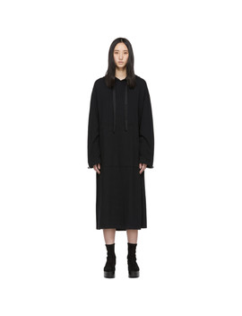 Black Hoodie Dress by Maison KitsunÉ