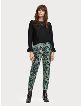 Phoenix Jacquard Trousers by Scotch&Soda