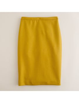 Double Serge Pencil Skirt by J.Crew