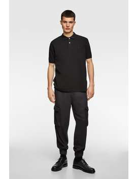 Loose Fit Cargo Trousers View All Trousers Man by Zara