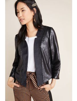 Shonda Sequined Jacket by Anthropologie