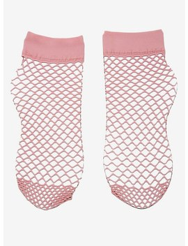 Pink Fishnet Socks by Hot Topic