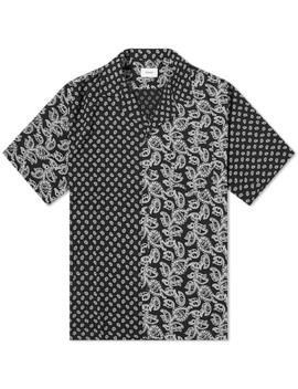 Rhude Bandana Panel Hawaiian Shirt by Rhude