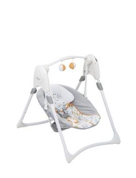 Graco Slim Spaces 2 In 1 Swing   Linus by Graco