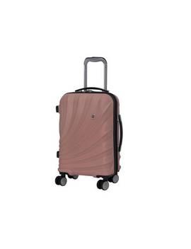 It Luggage Pagoda Expandable 8 Wheel Cabin Suitcase   Pink134/9478 by Argos