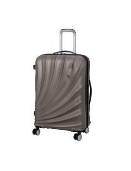 It Luggage Pagoda Medium Expandable 8 Wheel Suitcase   Gold197/9044 by Argos
